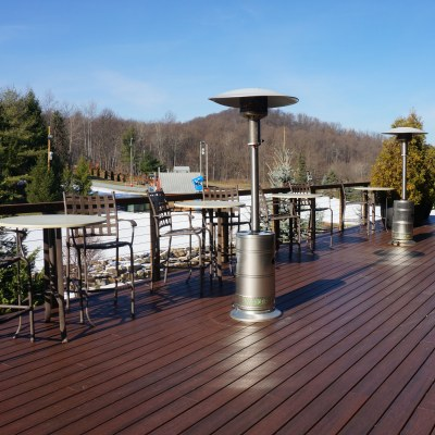 Ballroom Deck in Winter
