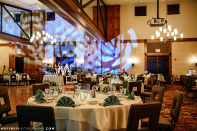 mountain ballroom DJ lighting