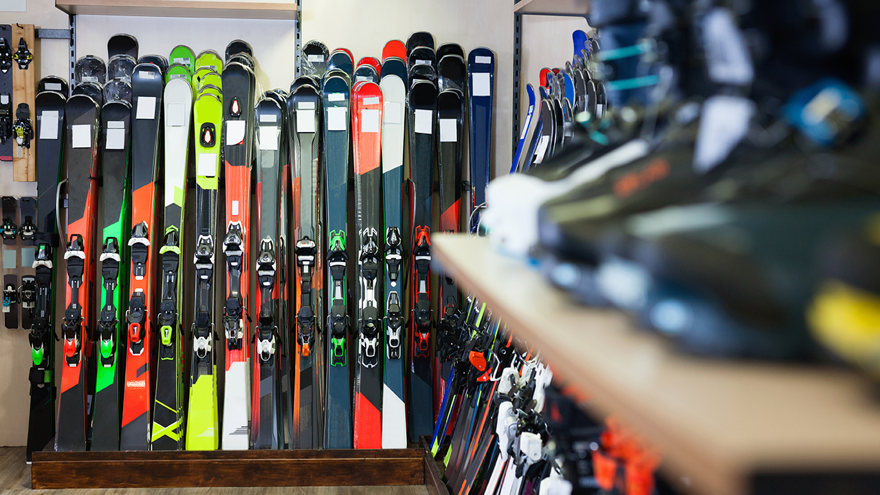 rental skis and boots