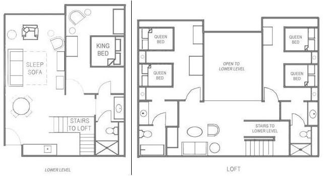 Loft Suite Layout