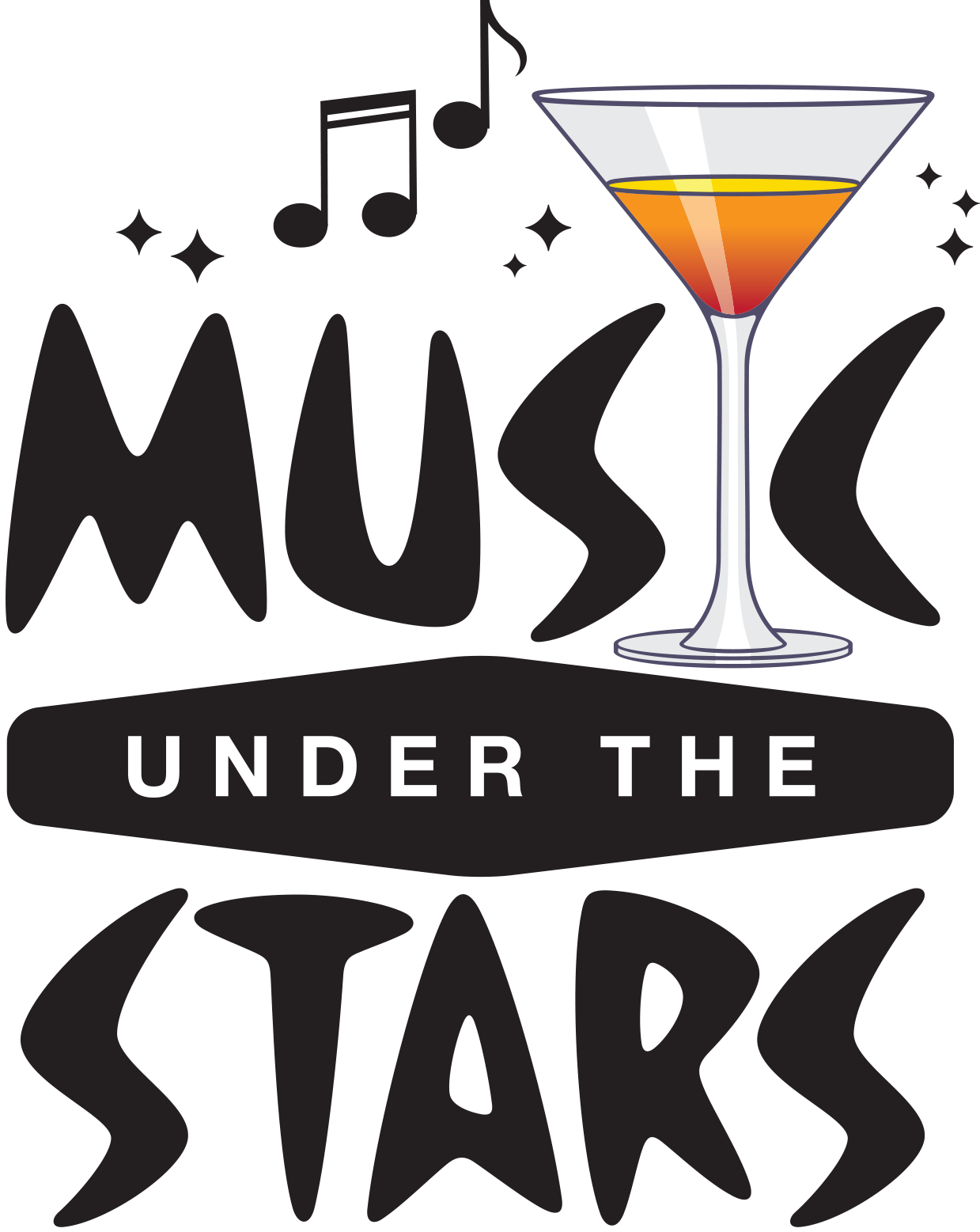 Music Under the Stars PNG