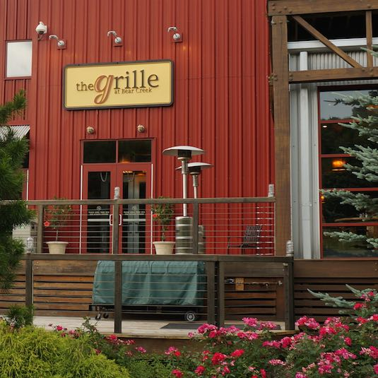 the Grille restaurant facade